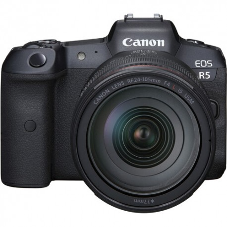 Canon EOS R5 Mirrorless Digital Camera with 24-105mm f/4L Lens 4147C013
