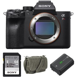 Sony Alpha a7R IV Body with Accessories Kit