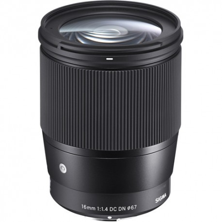 Sigma 16mm f/1.4 DC DN Contemporary Lens 402965 for Sony E