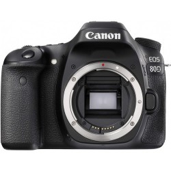 Canon EOS 80D DSLR Camera 1263C004 (Body Only)