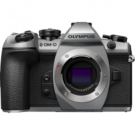 Olympus OM-D E-M1 Mark II Mirrorless Micro Four Thirds Digital Camera V207060SU000 (Silver, Body Only)