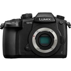 Panasonic Lumix DC-GH5 Mirrorless Micro Four Thirds Digital Camera DC-GH5KBODY (Body Only)