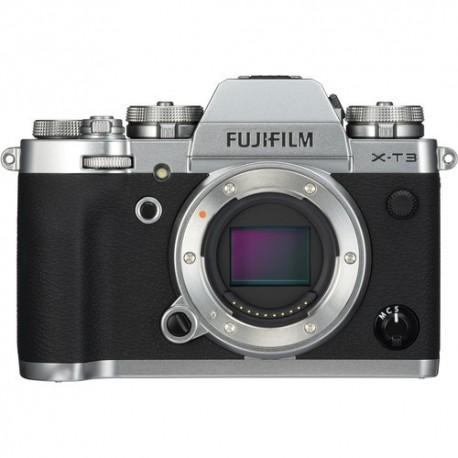 FUJIFILM X-T3 Mirrorless Digital Camera 16589058 (Body Only, Silver)