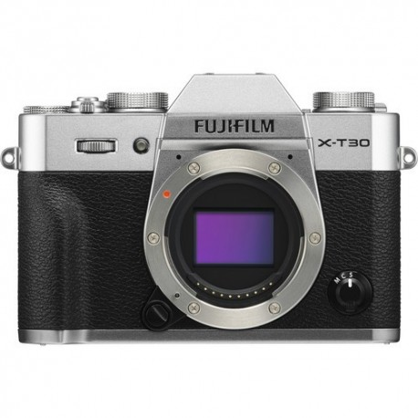 FUJIFILM X-T30 Mirrorless Digital Camera 16618380 (Body Only, Silver)