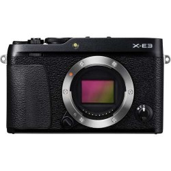 FUJIFILM X-E3 Mirrorless Digital Camera 16558530 (Body Only, Black)