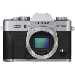 FUJIFILM X-T20 Mirrorless Digital Camera 16542359 (Body Only, Silver)