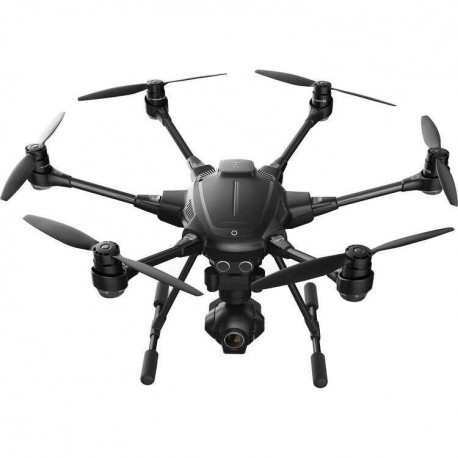 YUNEEC Typhoon H Hexacopter with Intel RealSense, GCO3+ 4K Camera, Wizard Wand, and Backpack (YUNTYHBRUS)